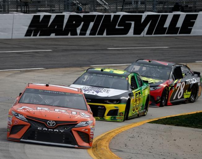 NASCAR Round of Eight Starts on Short Track of Martinsville