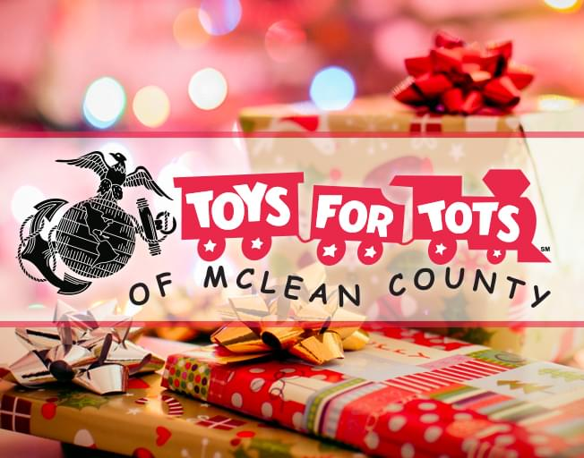 Stuff A Truck For Toys for Tots Of McLean County With B104