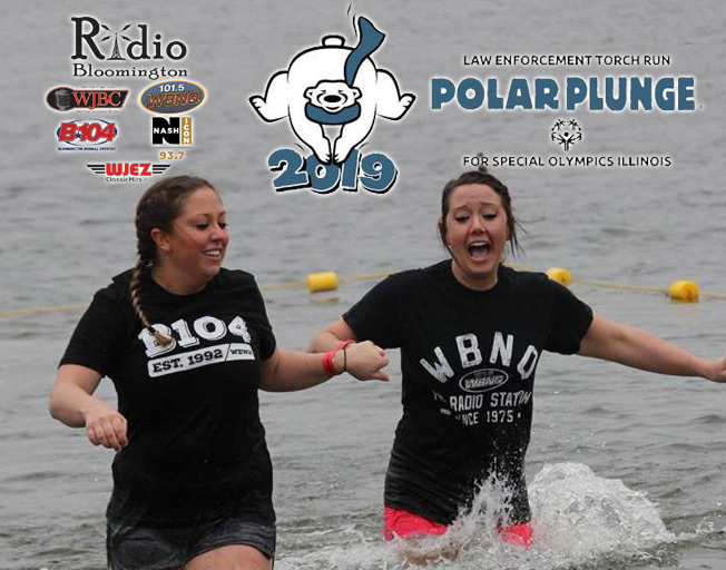 Join and/or Support the Radio Bloomington 2019 Polar Plunge Team