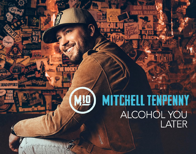 """Listen to Mitchell Tenpenny's New Single """"Alcohol You Later"""""""