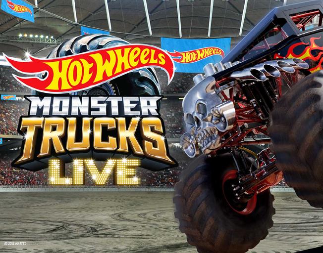 Hot Wheels Monster Trucks Live Coming To Grossinger Motors Arena B104 Wbwn Fm