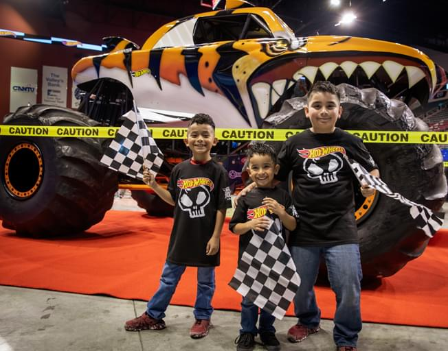 Bring The Kids To The Hot Wheels Monster Trucks Live Free Crash Zone Pre Show Party B104 Wbwn Fm