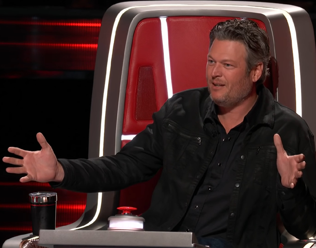 Blake Shelton on 'The Voice'