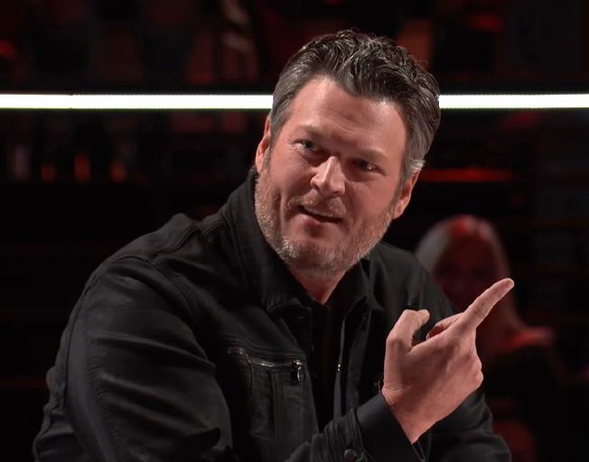 Blake Shelton on season 16 of 'The Voice'