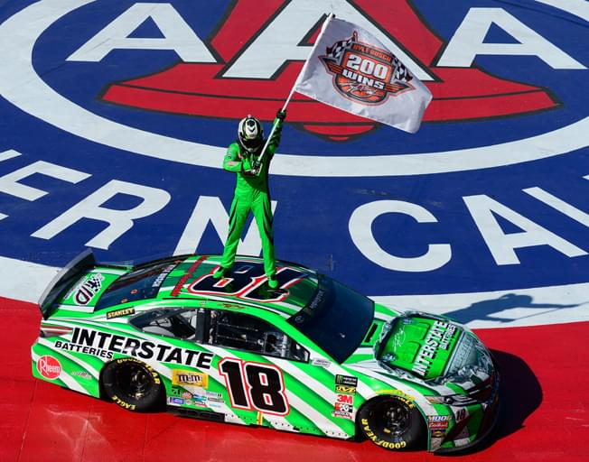 Kyle Busch Scores 200th NASCAR Win in Auto Club 400 [VIDEO]