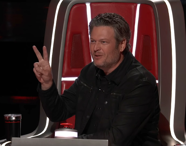 Blake Shelton on season 16 of 'The Voice'.