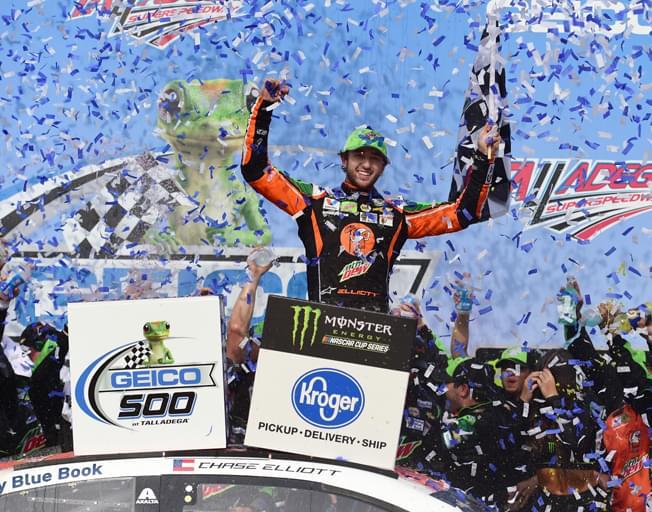 Chase Elliott Wins at Talladega in NASCAR's GEICO 500 [VIDEO]