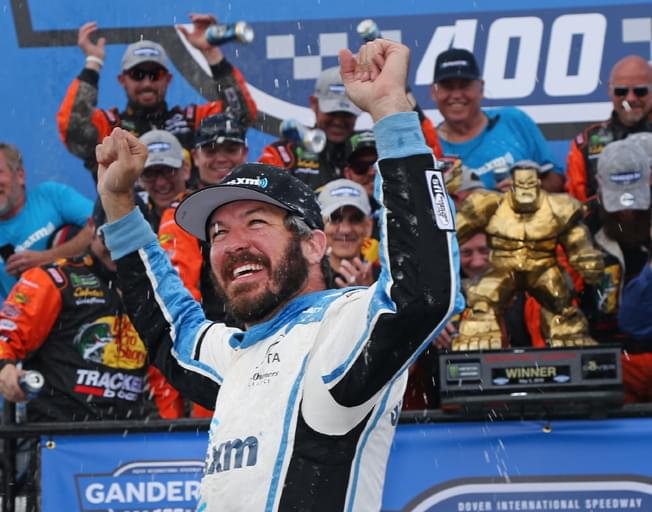 Martin Truex Jr. Wins NASCAR Monday Race at the Monster Mile [VIDEO]