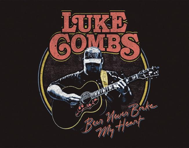 "Listen to Luke Combs New Song ""Beer Never Broke My Heart"" [AUDIO]"