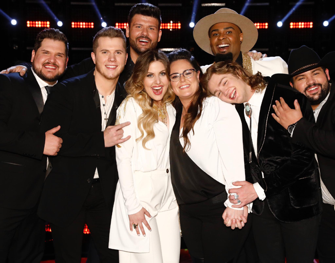 The Top 8 on season 16 of 'The Voice'