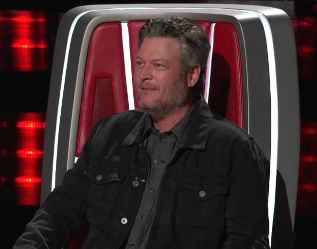 Blake Shelton on season 16 of 'The Voice'.