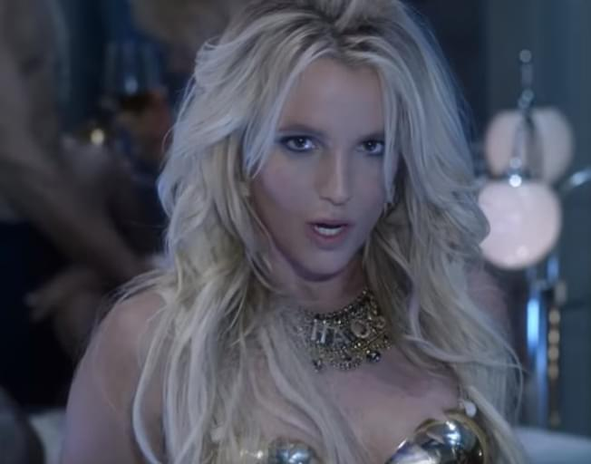 Britney Spears Work Video