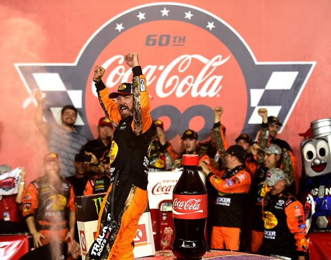 Martin Truex Jr. Goes from Wall to Win in Coca-Cola 600