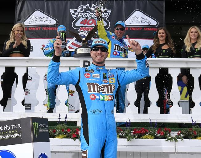 Kyle Busch Wins Again at Pocono [VIDEO]