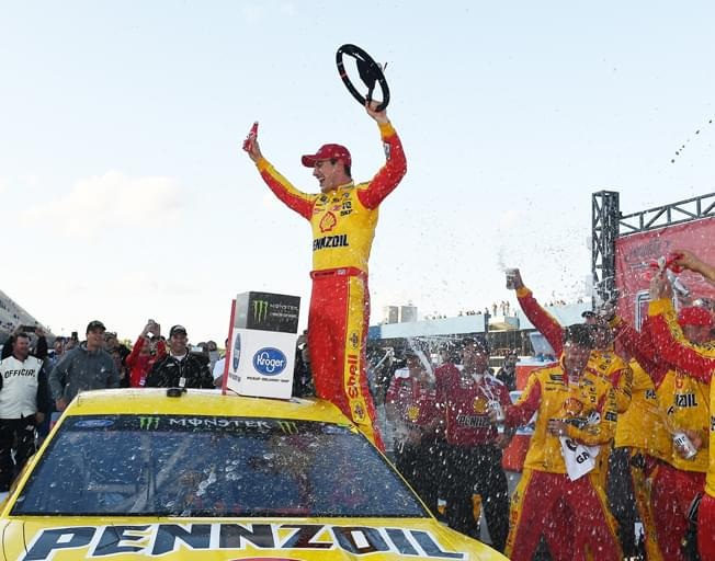 Joey Logano Dominates in NASCAR Michigan Win [VIDEO]