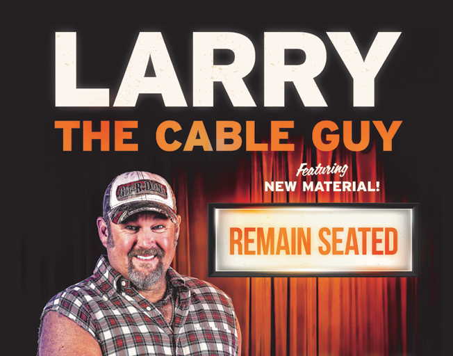 B104 Welcomes Larry the Cable Guy to the Peoria Civic Center