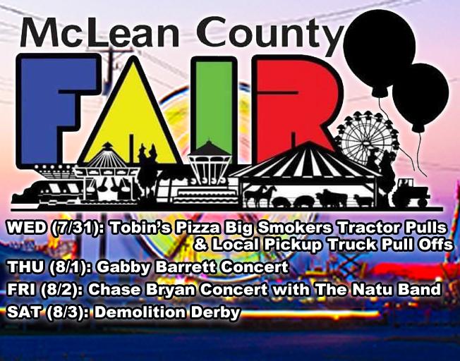 2019 McLean County Fair Grandstand Shows