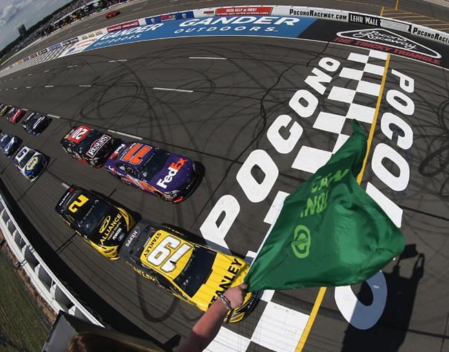 Who can Triangulate a NASCAR Win at Pocono?