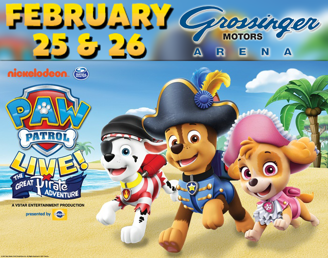 Win Tickets To Paw Patrol With Insider Rewards