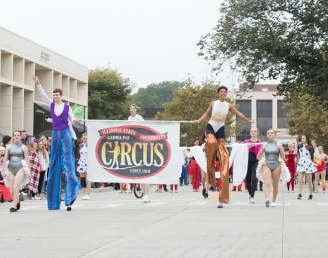 Gamma Phi Circus in 2019 Macy's Thanksgiving Day Parade