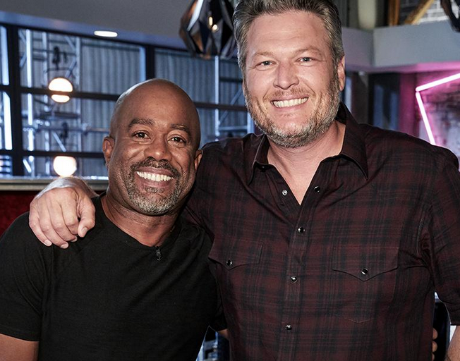 Darius Rucker Joins Blake Shelton's Team Blake on 'The Voice'