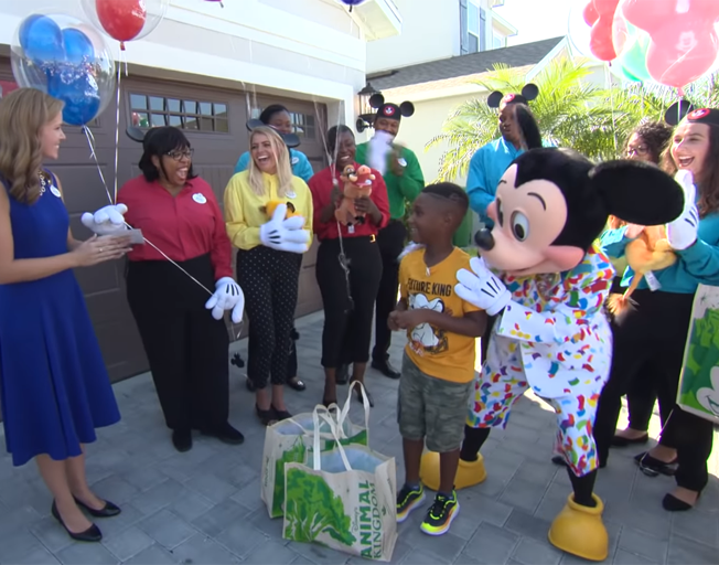 Boy Who Donated Disney Money To Hurricane Evacuees Surprised With Trip [VIDEO]