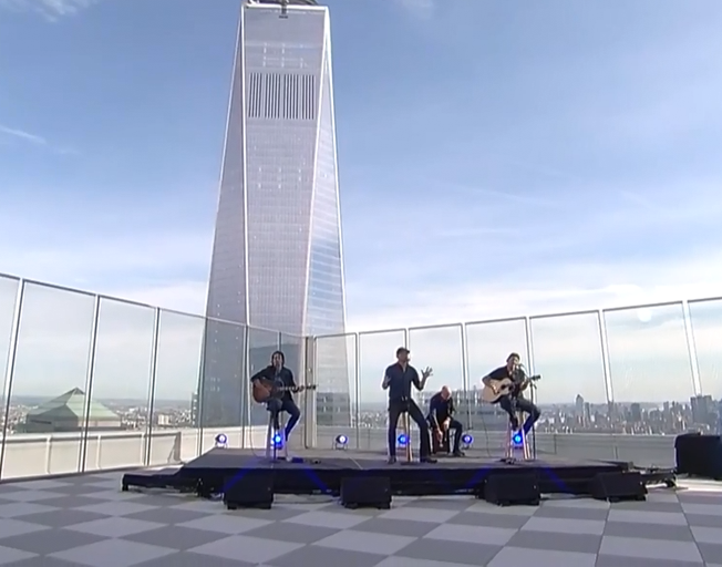 """Cole Swindell Freedom Tower Performance of """"You Should Be Here"""" is Perfect to Honor 9/11 Victims and Families [VIDEO]"""