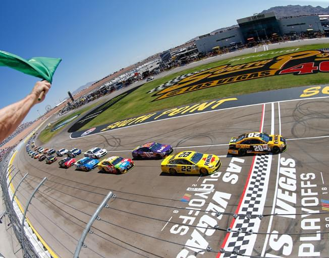 2019 NASCAR Playoffs Begin at Las Vegas with South Point 400