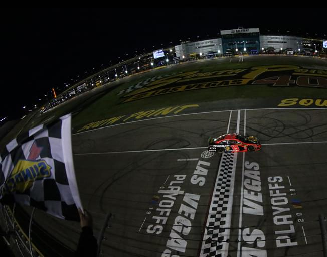 Martin Truex Jr. Wins First 2019 NASCAR Playoffs Race at Las Vegas [VIDEO]