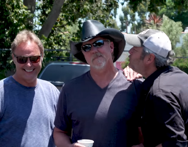 "BTS Making ""Hell Right"" by Blake Shelton with Trace Adkins [VIDEO]"