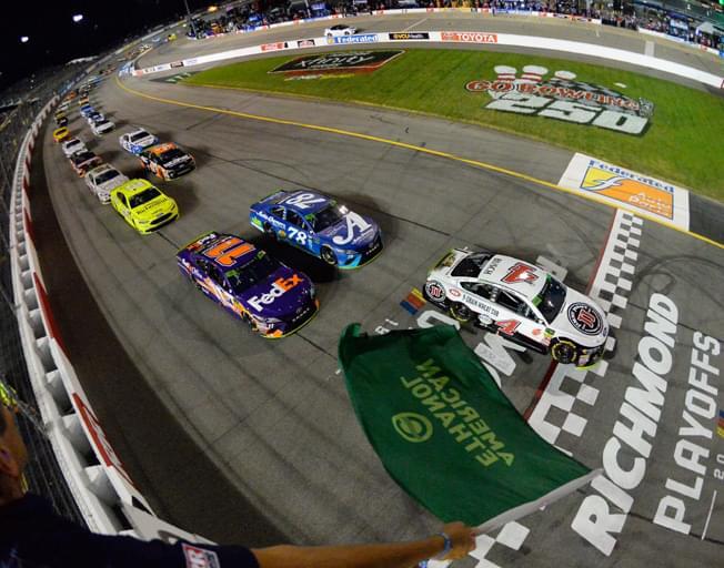 NASCAR Playoffs at Richmond Raceway Under the Lights Saturday Night