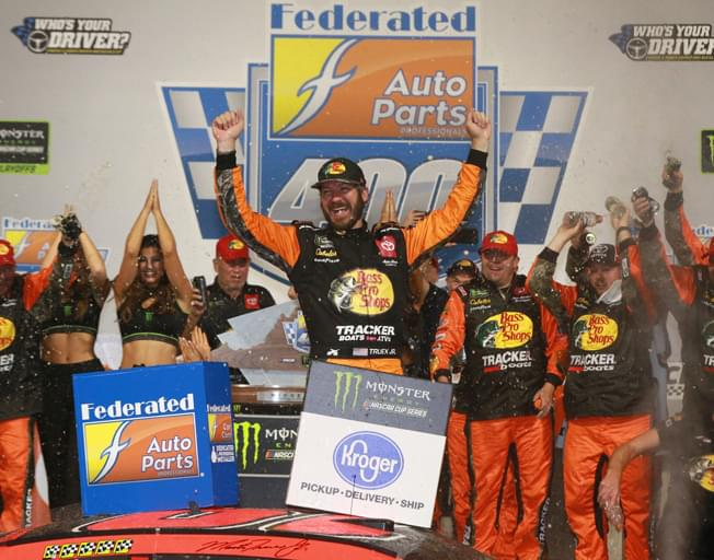 Truex Jr. Wins Back-To-Back in NASCAR Playoffs with Richmond Sweep [VIDEO]