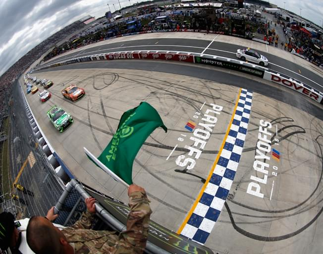 NASCAR Playoffs Continue on the Monster Mile of Dover