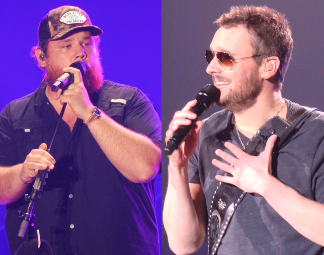 "Luke Combs and Eric Church Spend 2nd Week at #1 with ""Does To Me"""