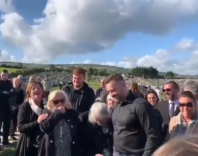 Irish Man Leaves Hilarious Recording to Play at His Funeral [VIDEO]