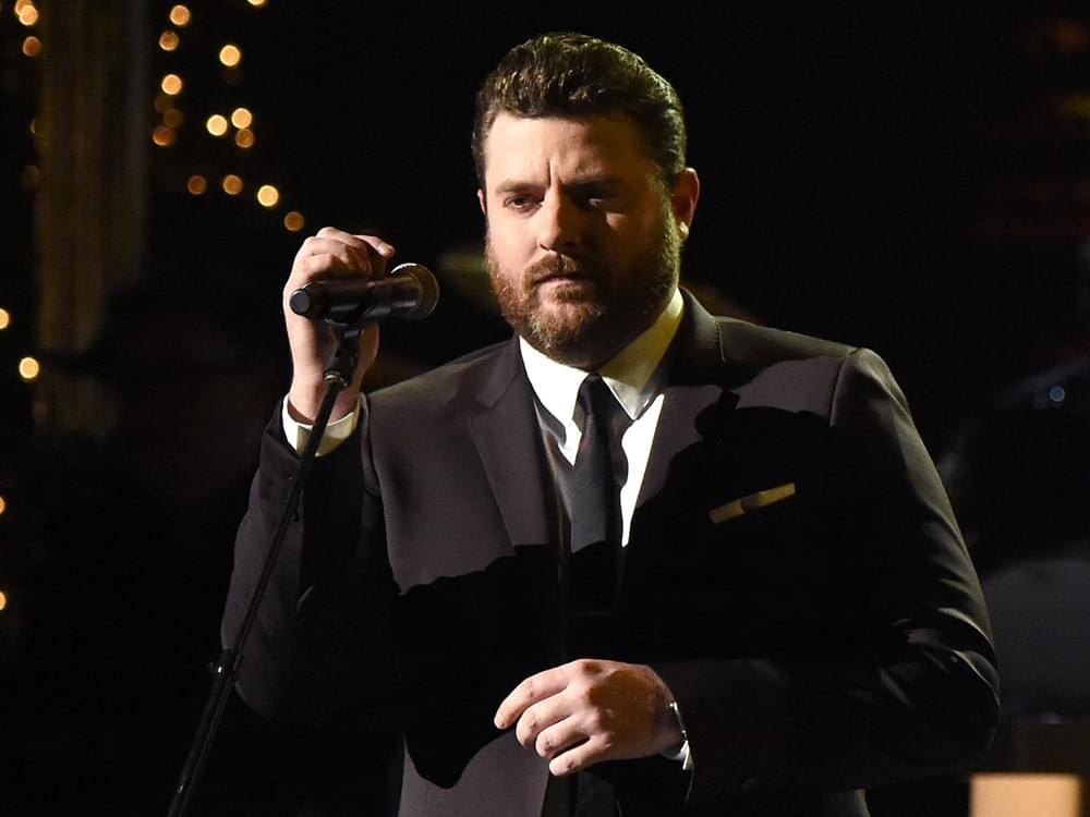 "Watch Chris Young Perform ""Drowning"" in Honor of Kane Brown's Late Drummer at CMT Awards"