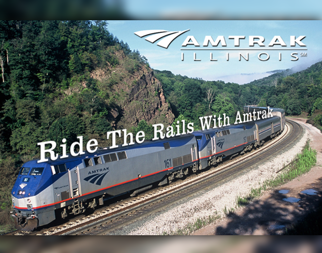 Win 2 Round Trip Tickets to Chicago on Amtrak