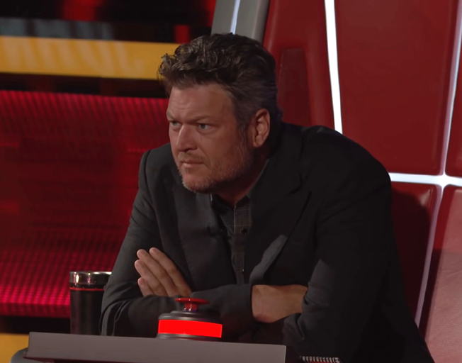 Blake Shelton on season 17 of 'The Voice'