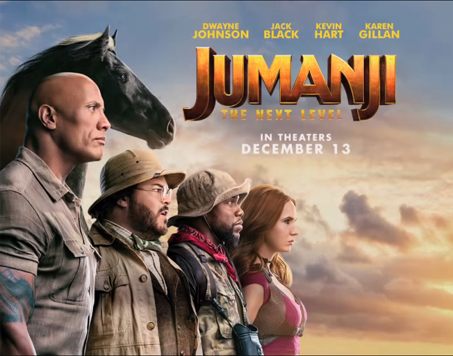 Image result for jumanji next level movie poster