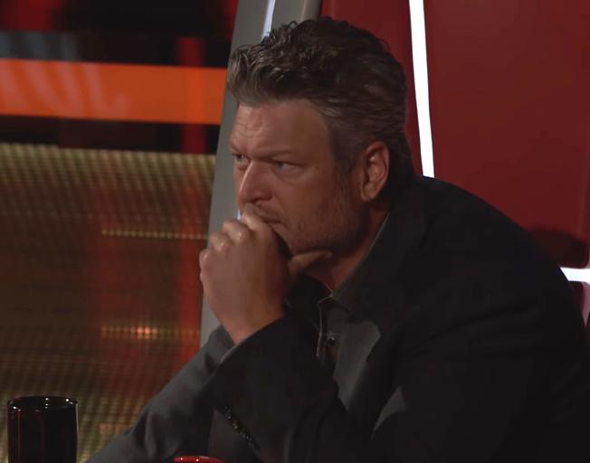 Blake Shelton on season 17 of 'The Voice'