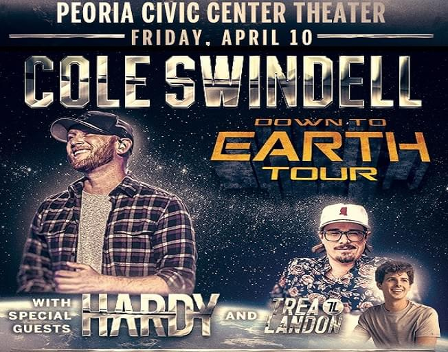 Win Tickets To Cole Swindell With A Text 2 Win Weekend