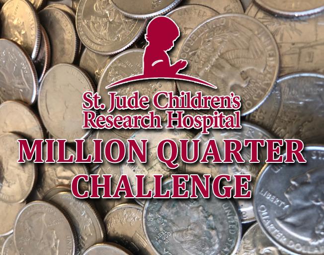 St. Jude Million Quarter Challenge - Quarter Total Standings