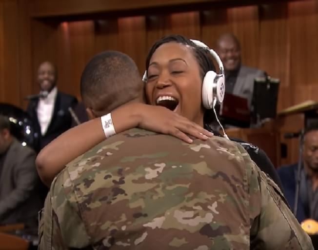 Military Veteran Surprised By Her Husband On Veterans Day [VIDEO]