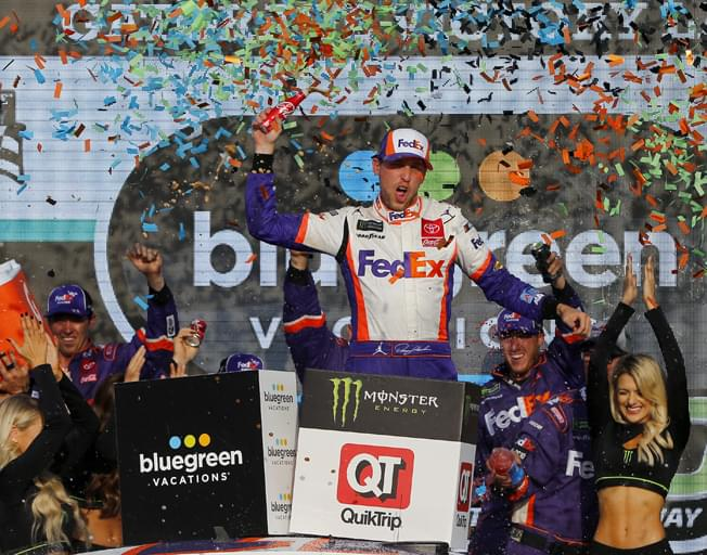 Denny Wins in Phoenix and Makes NASCAR Championship Four [VIDEO]