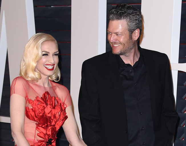 Blake Shelton and Gwen Stefani Celebrated People's Choice Awards Wins Together