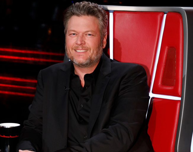 "THE VOICE -- ""Live Top 13 Performances"" Episode 1716A -- Pictured: Blake Shelton -- (Photo by: Trae Patton/NBC)"