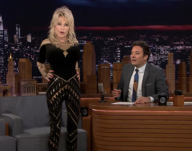 Dolly Parton Finally Shares Origin Story of Her Biggest Assets with Jimmy Fallon [VIDEO]
