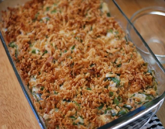 Nashville Kat's Famous Green Bean Casserole Recipe