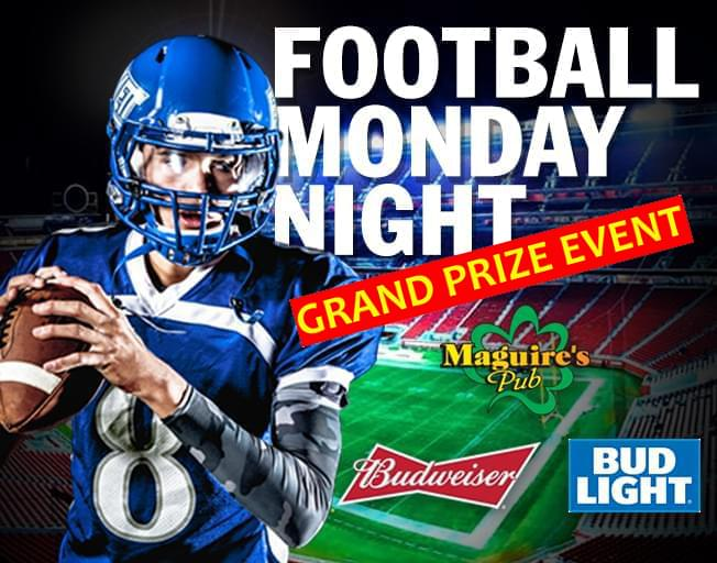 Win at the Football Monday Night Finale