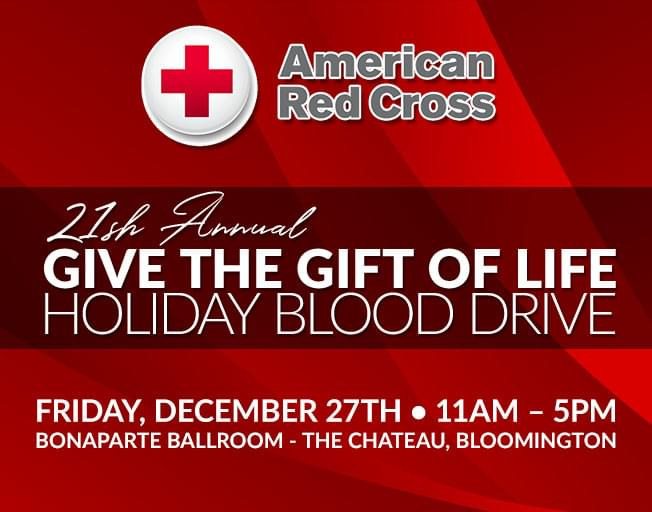 21st Annual Give the Gift of Life Blood Drive